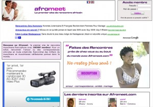 I rencontre Afromeet